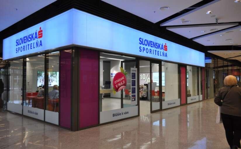 Nové technológie  zvýšili predaj  Slovenskej  sporiteľne