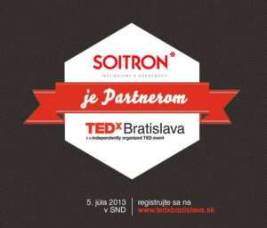 Soitron - TEDxPartner badge