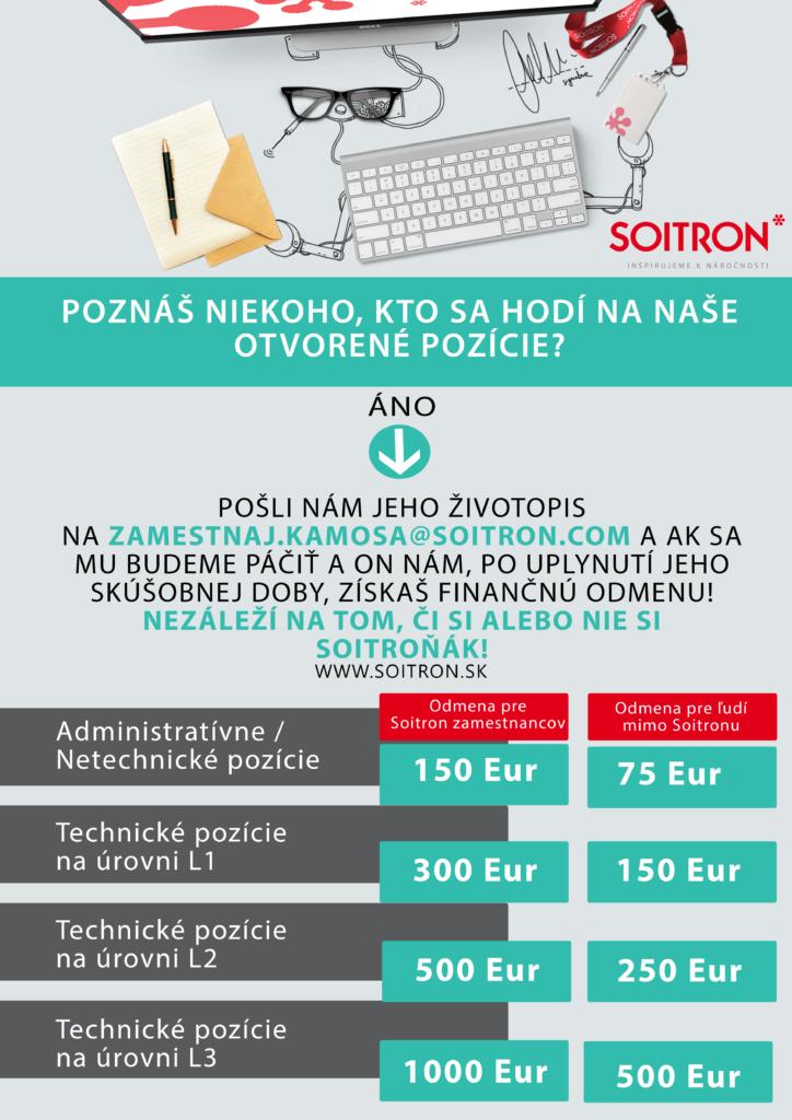 Referral program Soitron